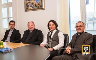 krčki biskup mons. Ivica Petanjak posjetio je Općinu Baška