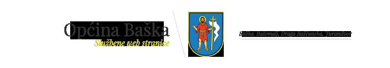 Općina Baška Logo