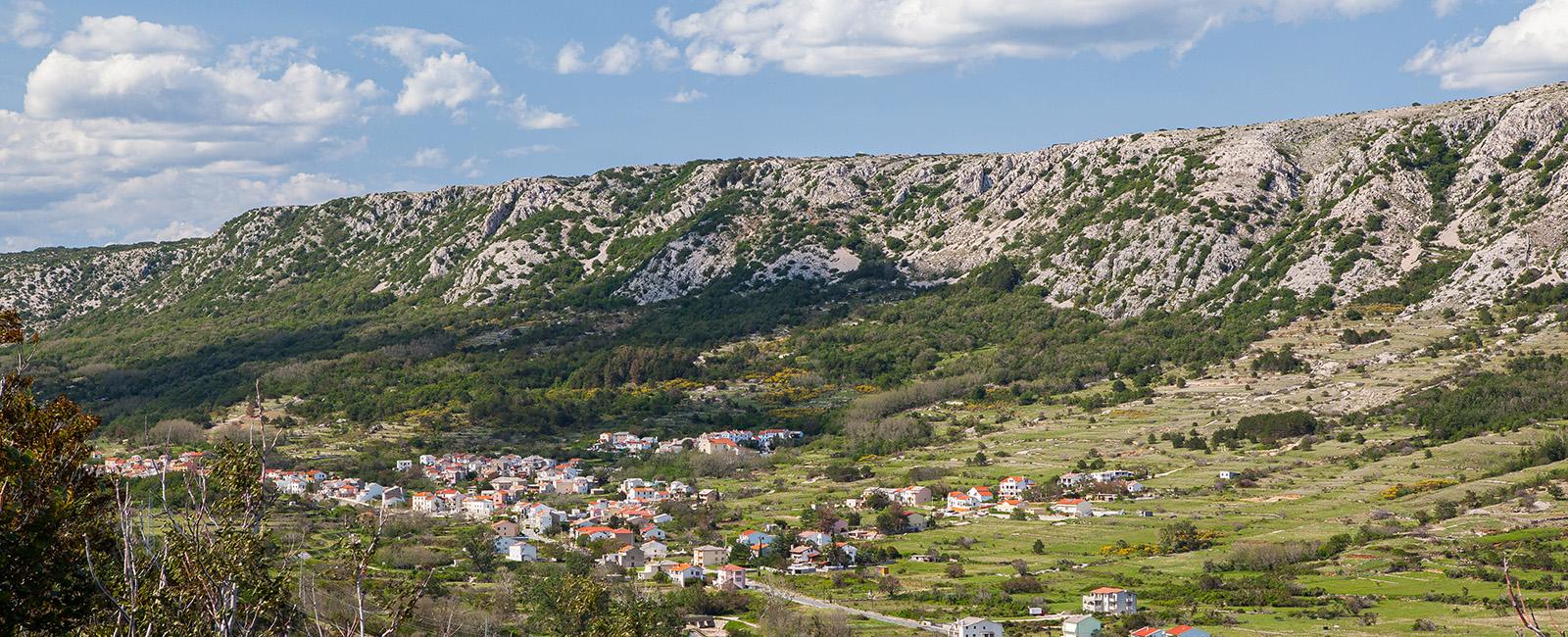 Naselje Draga Bašćanska - Općina Baška