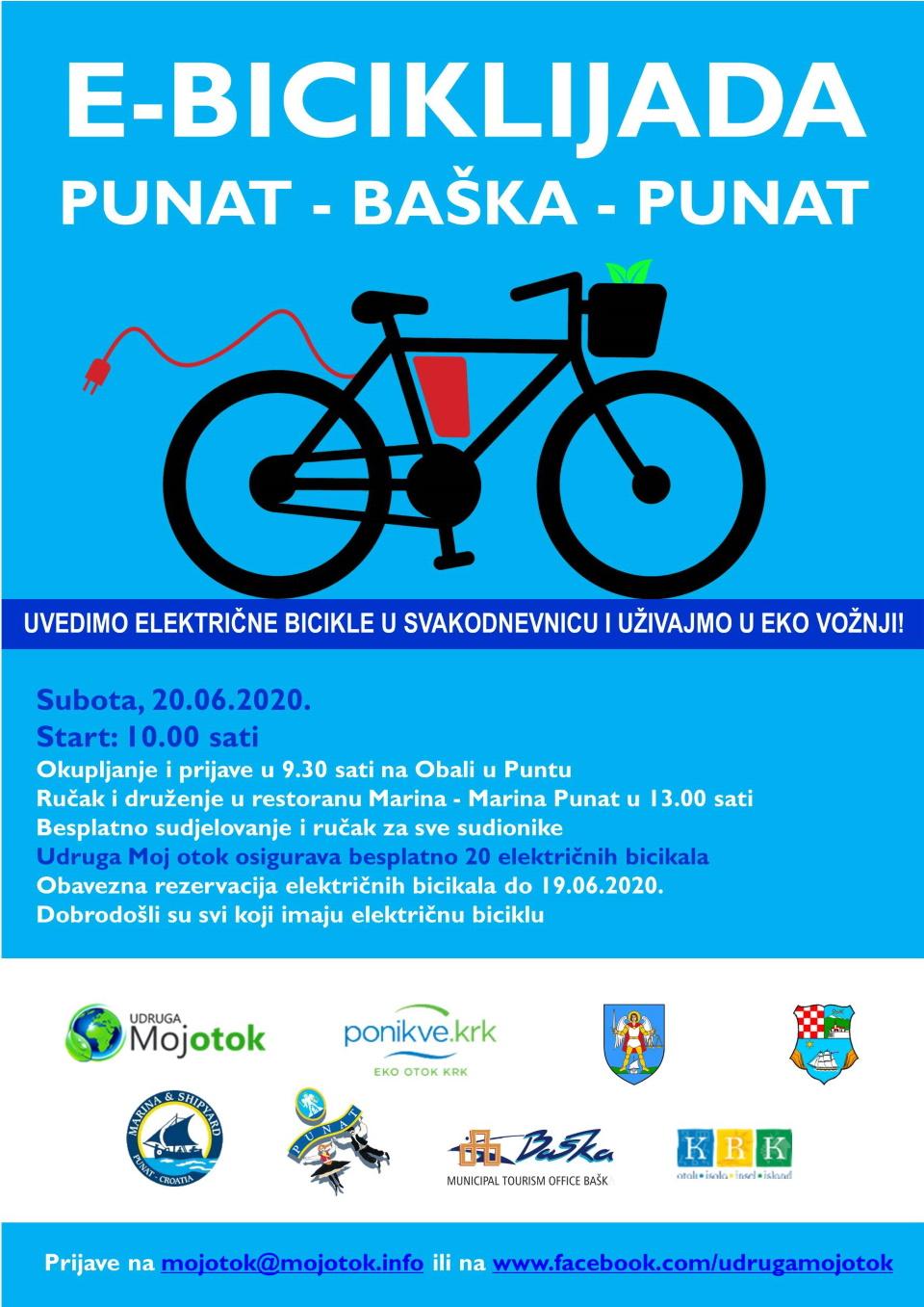 E biciklijada Punat-Baška-Punat